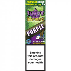 JUICY HEMP WRAPS PURPLE(25)