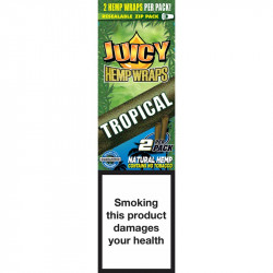 JUICY HEMP WRAPS TROPICAL(25)
